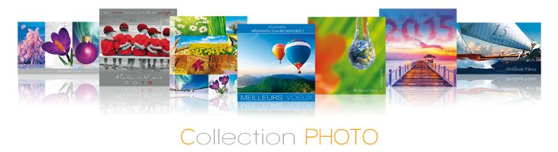 Avec Photosud vous pouvez opter pour l'impression de votre carte de vœux pro, ou sa version virtuelle…