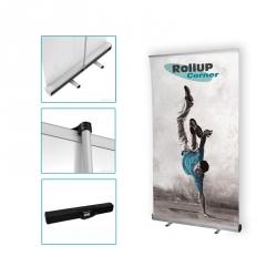 Grand stand portable Rollup corner