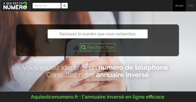 détectez un spam téléphonique grâce à l'annuaire inversé aquiestcenumero.fr